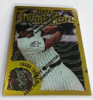 1996 Topps Finest Frank Thomas Intimidators GOLD RARE Insert White Sox HOF