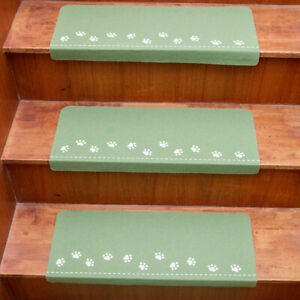 4X Stair Tread Carpet Non Slip Mats Luminous Step Staircase Cover Pads Craft Kit