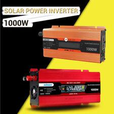 700W1000W USB Port Car Power Inverter DC 12V To AC 220V Charger Converter new