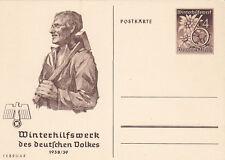 Germany, Nazi, postcard, Hitler,1938, Winter Help Work,Winterhilfswerk, February