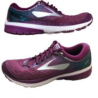 Brooks Womens Ghost 10 DNA Purple Athletic Running Training Shoes Sneakers Sz 9