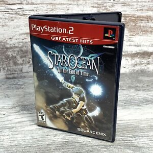 Star Ocean Till the End of Time (Sony Playstation 2) RPG Greatest Hits Complete