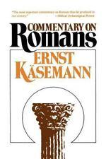 Commentary on Romans: By Ernst Kasemann