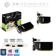 Scheda Video nVidia CAPTIVA GeForce G210 1gb Ddr3 64bit HDMI DVI Pci-e con