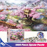 Sakura Villa 1000 Pieces Jigsaw Puzzles Educational Toys Assembling Puzzles Toys