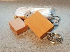 Wooden / Bamboo USB 2.0 Flash Memory Stick Pen Storage Drive 8GB Keychain