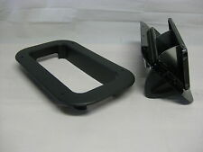 Black Aluminum Popup Vent  RV Horse Trailer Air Flow Low Pro Egro Trim Ring