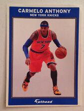 "Carmelo Anthony #7 FATHEAD Ad Panel 6""x4"" Knicks NBA Vinyl Wall Graphics Sign"