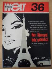 FREIE WELT 36 1968 * Mit Jermilow durch Bezirk Rostock Südafrika MiG-21