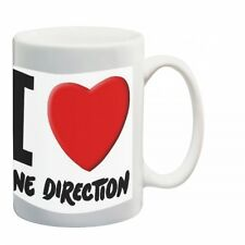 One Direction 'I Love Direction'  Ceramic Tea / Coffee  Mug Brand New Gift