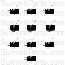 10PK - COIN DROP SWITCHES FOR DEXTER WASHERS AND DRYERS - 9732-126-001