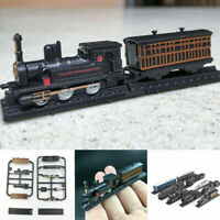 1:200 4D Assembly Train Steam Locomotive Model Collection Puzzle Brick Toys Gift