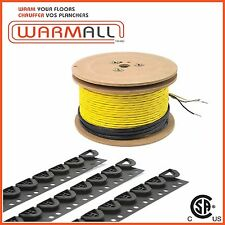 120V 33 Sq/Ft - Electrical Radiant Warming Floor Heating Cable System
