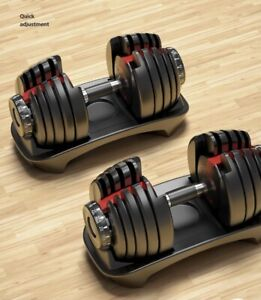 New Adjustable Dumbbells 552, A Pair, Order now and Ship ASAP