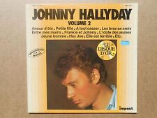 Johnny Hallyday vol 2 33T LP Compilation Impact amour d'ete petite fille