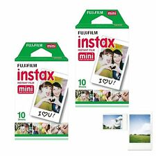 Fuji Instax White 20 Instant Film For Fujifilm Mini 8 Plus 90 25 7s 300 SP-1
