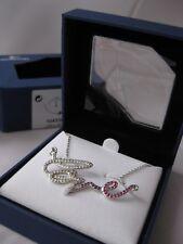 Genuine Swarovski Pink love crystal necklace £89 birthday with giftbag 1024848