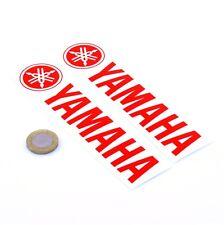 Yamaha Stickers Red Decal Vinyl Motorbike 150mm x2 Motorcycle Tank Fairing
