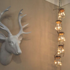 Glass Warm White Fairy Lights