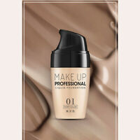 30ML Foundation Full Coverage Concealer Makeup Matte Brighten Long Lasting 34