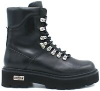 Cult Art.CLW319802 BIKERS ANFIBIO IN PELLE DA DONNA, VITELLO NERO