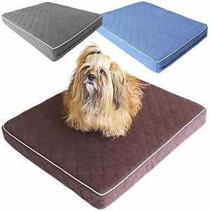Hundebett Haustierkissen Schlafplatz für Hunde Liegematte Hundematratze S,M,L