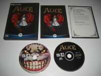 American McGee's ALICE Pc DVD Rom Original Version with Manual - FAST DISPATCH