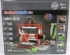 **NEU** fischertechnik 536624 3D Printer Drucker + 8 x 50 g Filament **OVP**