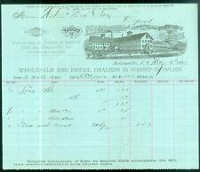 1887 Letterhead McGraw Corsets McGrawville NY