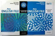 Oxford NEW ENGLISH FILE PR-INTERMEDIATE STUDENT'S BOOKS WORKBOOK WITH MP3 , DVD