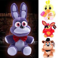"1-4 Pcs FNAF Five 5 Nights at Freddy's BONNIE.. 7/11.8"" Kids Plush Doll Toy Gift"