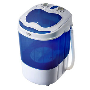 Mini lavatrice portatile centrifuga camper barca Adler AD8051 capienza 3kg