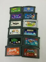 Nintendo GameBoy Advance lot of 12 game  And More