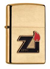 Zippo Lighter ● Zi Flamme Flame Brass Messing ● 60000832 ● Neu New OVP ● A616
