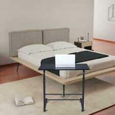 "Adjustable Height 27""-38"" Rolling Laptop Table Over SOFA,BED Computer Desk Stand"