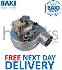 Baxi sistema 35/60 (gc Nº 41-075-18) Ventilador 248001 Genuine Part   libre del * Nuevo *