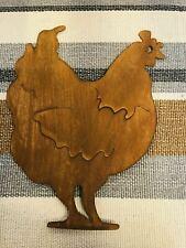 Rusted Metal Bird Silhouette Garden Stake Border Ornament Mystical Decor SALE ON