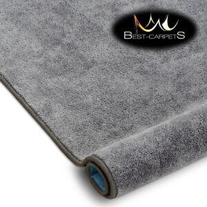 Best Carpets Hardwearing Soft SERENADE grey Stain Resistant Stairs Rugs