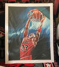 "Michael Jordan Oil Painting on Canvass 20"" x 24"" #MJ01"