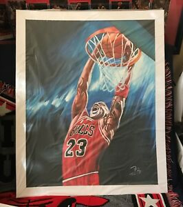 "Michael Jordan Oil Painting on Canvass 20"" x 24"" #MJ01"