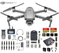 DJI Mavic 2 Pro Drone with Smart Controller + Fly More Kit, Waterproof Case+More