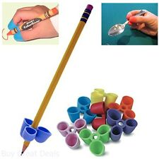 Pencil Grip Writing Claw For Pencils And Utensils Small Size 6 Count Assorted