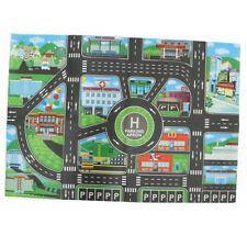 City Traffic Car Game Play Mat Rug Carpet Toy Infant Kid Crawl Developmental
