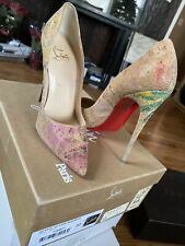 Christian louboutin So Kate 120 Cork Blooming