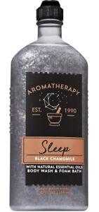 Bath & Body Works Aromatherapy Sleep Black Chamomile Body Wash Foam Bath 10oz