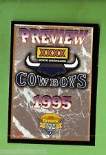 1994 Series 2 RUGBY LEAGUE CARD #216  NORTH QUEENSLAND COWBOYS  PREVIEW