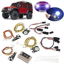 LED Front Rear light IC Lamp Group Headlight Kit For TRAXXAS Trx4 RC Car Parts