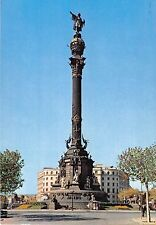 BR84600 barcelona monumento a cristobal colon spain