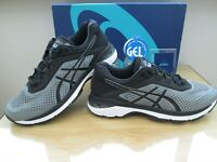 ASICS GEL GT-2000 6 MENS STONE GREY BLACK RUNNING TRAINERS SIZE UK 8.5  EU 43.5