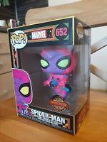 Funko POP: Marvel – Spider-Man Black Light Special Edition Sticker 652 NEW